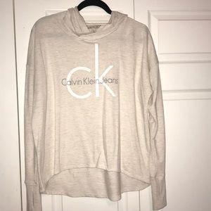 Calvin Klein light sweatshirt